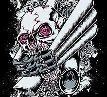 Moto Skull by iRoNDesign