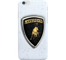 Lamborghini badge (Raging bull) iPhone Case/Skin