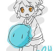 Clannad: Ushio With Dango by Liam Hole