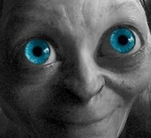 Gollum Black and White by Themaninthefez