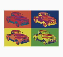 1951 ford F-1 Pickup Truck Pop Art T-Shirt