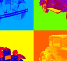 Ford Model A Roadster Pop Art Sticker