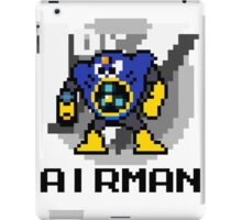 Airman with text (Black) iPad Case/Skin
