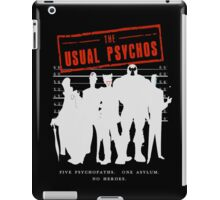 The Usual Psychos iPad Case/Skin