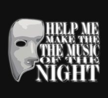 The Music of The Night - Phantom of the Opera by aquabatman