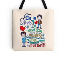 "The Fault In Our Stars (TFIOS) - ""I'm In Love With You..."" Tote Bag"