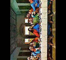 Politician's Last Supper  by Lucia Hamlin
