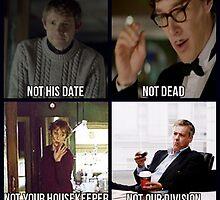 Sherlock BBC Cast by HannahJill12
