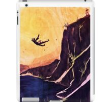 """He fell."" iPad Case/Skin"