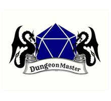Dungeon Master Dungeons and Dragons Art Print