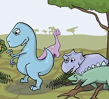 Dinosaurs RAWR  by BestLindseyEver