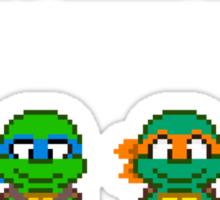Select Your Turtle (Raphael) - TMNT Pixel Art Sticker