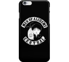 Men of Alchemy - Central (Patch) iPhone Case/Skin