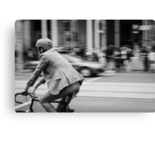 In Melbourne, We Ride! Canvas Print