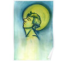 Moon Halo Poster