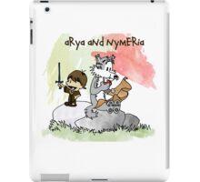 Arya and Nymeria iPad Case/Skin