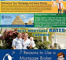 Mortgage Rates Toronto by MortgageRefinan