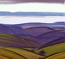 IPad Art - From the lookout by Georgie Sharp