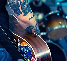 Music & Robot Tattoos by Pixelglo Photography