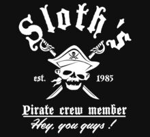 Sloth's pirate crew member by CarloJ1956