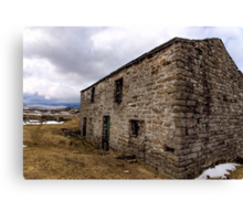 The Barn Swaledale Canvas Print