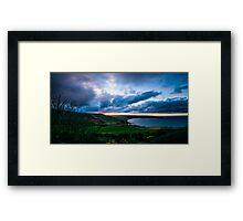 Spring Sunset Over Robin Hood's Bay Framed Print