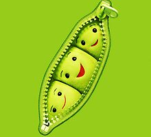Cute Green Soybeans by fiveminutes