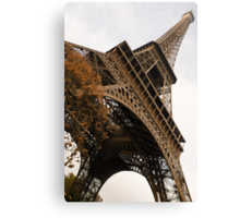 An Elegant French Iron Lady - La Dame de Fer, Paris Canvas Print