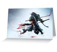 Samurai Spirit III Greeting Card
