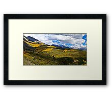 The View From Last Dollar Road Framed Print