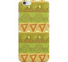 Tribal geometric striped pattern iPhone Case/Skin