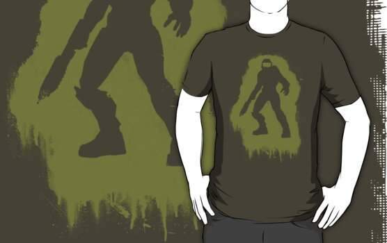 TGR - Master Chief T-shirt by TGR Clothing Company