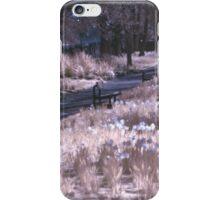 Infrared Park iPhone Case/Skin