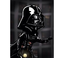 Darth Vader Caricature - Star Wars Photographic Print
