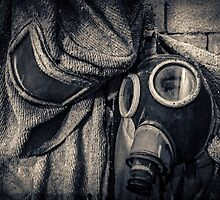 protective suit with gas mask by novopics