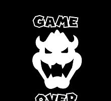 Bowser Game Over by hentaiologist