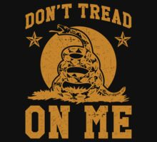 Don't Tread On Me (yellow print) by printproxy