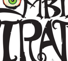 The Zombie Pirates Sticker