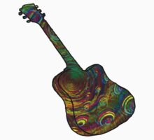 Psychedelic Six String by SaucyRossy