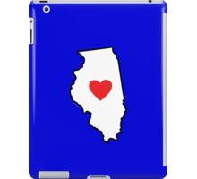 I Love Illinois iPad Case/Skin