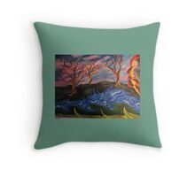Fictional Nature Throw Pillow