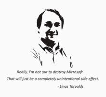 Linux - Linus Torvalds by MGakowski