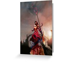 Athena, Born of Zeus Greeting Card