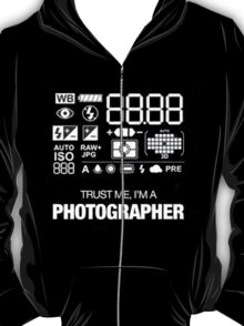 Camera settings T-Shirt