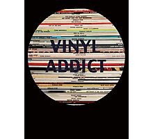 Vinyl Addict records Photographic Print