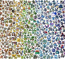 Pokemon Spectrum (simple) by lizalfos