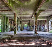 Brenton Point Stables Abandoned 3 by mcdonojj