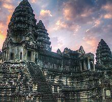 Temples of Angkor Wat & Angkor Thom by jaymephoto
