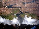 Aerial of Victoria Falls, Africa (3) by Margaret  Hyde