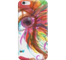 Eyelashes iPhone Case/Skin